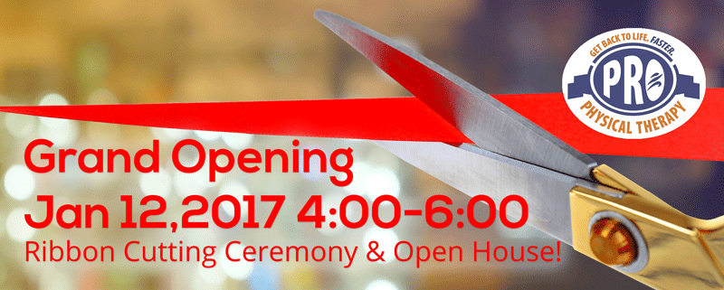 PRO Physical Therapy Open House