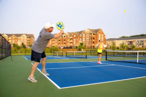 Dave Playing Pickleball